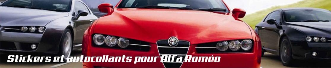Stickers et autocollants pour Alfa Roméo