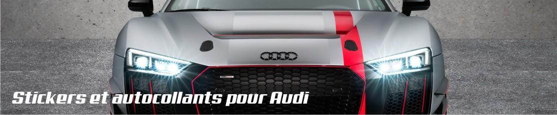 Stickers et autocollants pour Audi