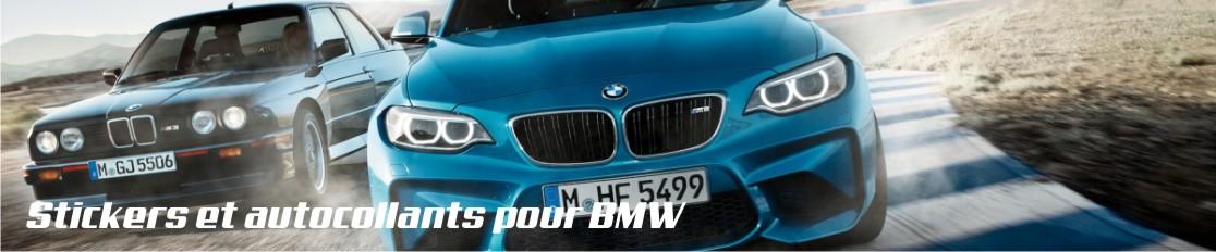 Stickers et autocollants pour BMW