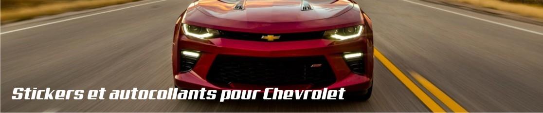 Stickers et autocollants pour Chevrolet