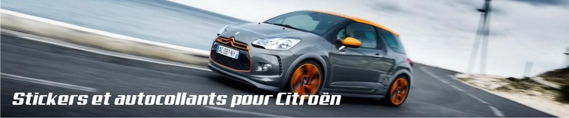Stickers et autocollants pour Citroën