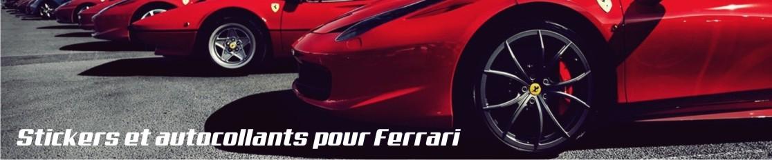 Stickers et autocollants pour Ferrari