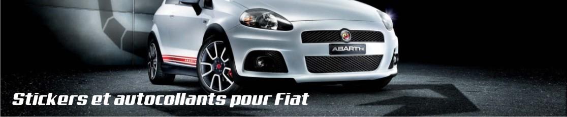 Stickers et autocollants pour Fiat