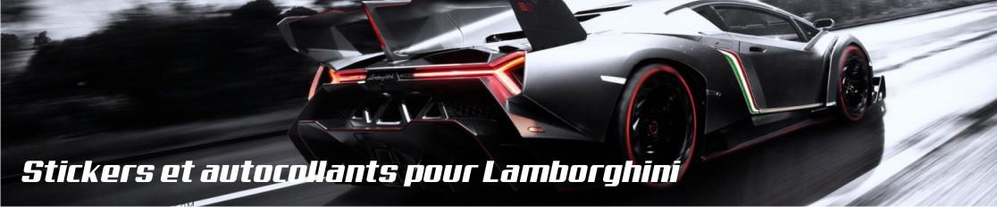 Stickers et autocollants pour Lamborghini