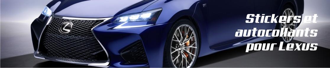 Stickers et autocollants pour Lexus