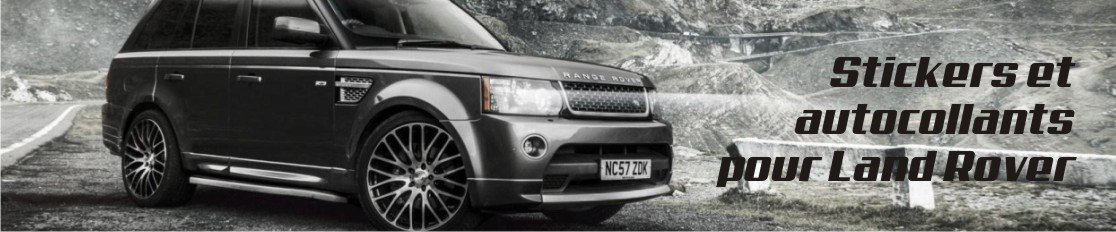 Stickers et autocollants pour Land Rover