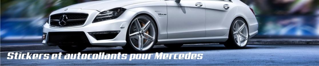 Stickers et autocollants pour Mercedes