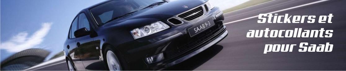 Stickers et autocollants pour Saab