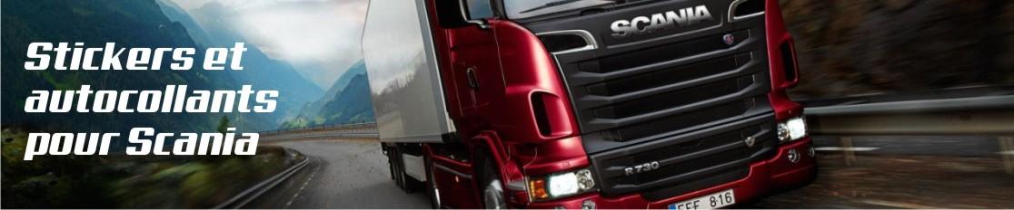Stickers et autocollants pour Scania