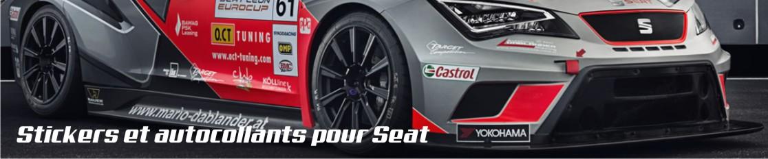 Stickers et autocollants pour Seat