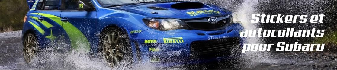 Stickers et autocollants pour Subaru