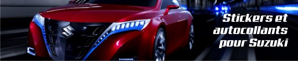 Stickers et autocollants pour Suzuki Auto