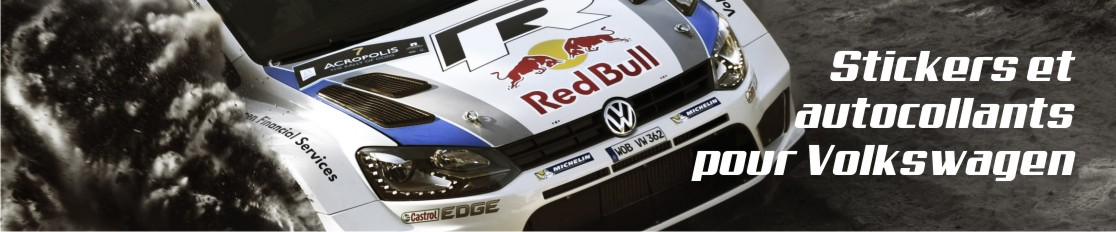 Stickers et autocollants pour Volkswagen