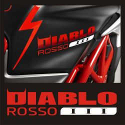 MV Agusta Diablo Rosso Sticker - Autocollant MV Agusta 54