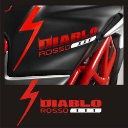 MV Agusta Diablo Rosso Sticker - Autocollant MV Agusta 55