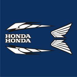 Honda Déco reservoir Sticker - Autocollant Honda 36