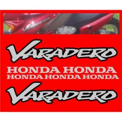 HONDA Varadero Stickers - Autocollants Honda 39