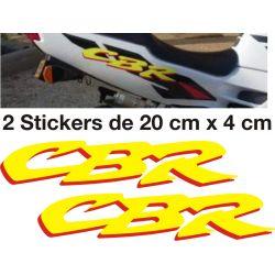 HONDA CBR Stickers - Autocollants Honda 41