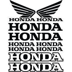 10 Autocollants HONDA