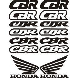 HONDA CBR Stickers - Planche Autocollants Honda 45