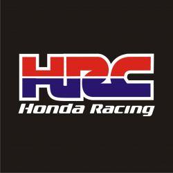 Honda Racing HRC Stickers - Autocollant HRC Honda Racing
