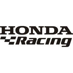 Honda Racing Sticker - Autocollant Honda Racing