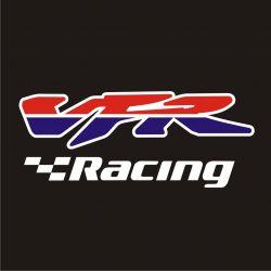 Honda VFRRacing Sticker - Autocollant Honda VFR Racing découpés