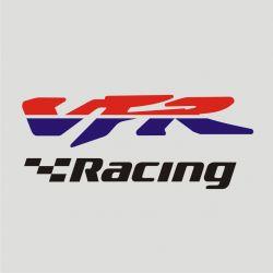 Honda VFR Racing Sticker - Autocollant Honda VFR Racing découpés