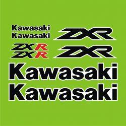 Kawasaki ZXR Stickers - Planche Autocollants Kawasaki - 94