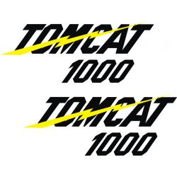 Kawasaki Tomcat 1000 Stickers - Planche Autocollants Kawasaki - 97