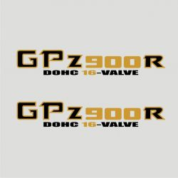 Kawasaki GPZ 900 R Stickers - Planche Autocollants Kawasaki - 99
