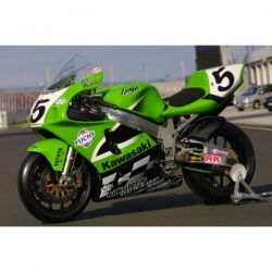 Kawasaki Sbk Superbike 2001 - Fuchs Stickers - Planche Kawasaki - 109