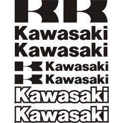Kawasaki Stickers - Planche Autocollants Kawasaki - 111