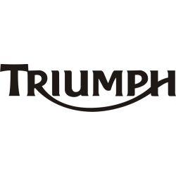Triumph Sticker - Autocollant Triumph 2