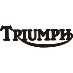 Triumph Sticker - Autocollant Triumph 3