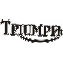 Triumph Sticker - Autocollant Triumph 4