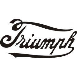 Triumph Sticker - Autocollant Triumph 6