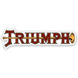 Triumph Sticker - Autocollant Triumph 8