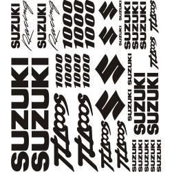 Suzuki 1000 TLS Stickers - Planche Autocollants Suzuki 12