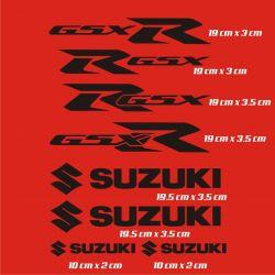 Suzuki GSXR Stickers - Planche Autocollants Suzuki 14