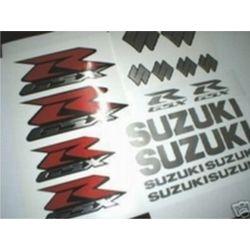 Planche adhesif CHROME ! - SUZUKI GSX R - GSXR Stickers - Autocollants Suzuki 31
