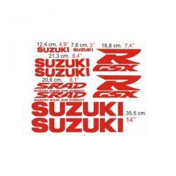 Suzuki GSXR 1998 - Stickers - Autocollants Suzuki 103