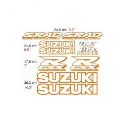 Suzuki GSXR 1998 - Stickers - Autocollants Suzuki 104