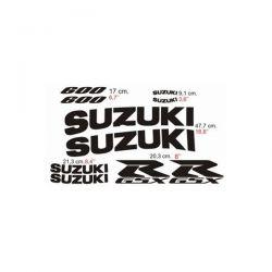Suzuki GSXR 600 2001 - Stickers - Autocollants Suzuki 106