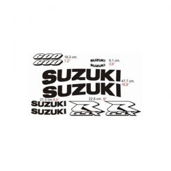 Suzuki GSXR 600 2001 - Stickers - Autocollants Suzuki 107