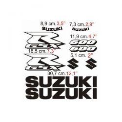Suzuki GSXR 600 2006 - Stickers - Autocollants Suzuki 109