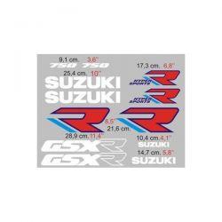 Suzuki GSXR 750 1988-89 - Stickers - Autocollants Suzuki 110