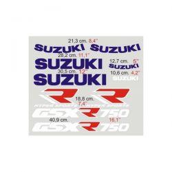 Suzuki GSXR 750 - 1990 Stickers - Autocollants Suzuki 112