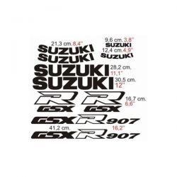 Suzuki GSXR 907 - 1991 Stickers - Autocollants Suzuki 114