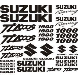 Suzuki 1000 TLS Stickers - Autocollants Suzuki 116